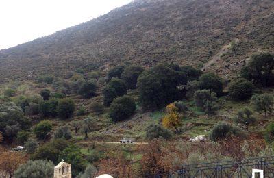 Walking route: Danakos – Thalea – Chalandris Cave – Danakos