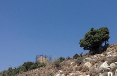 Walking route: Agios Tryfonas – Chemaros Tower – Klydos