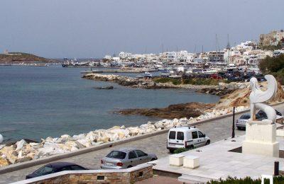 Βόλτα από το λιμάνι μέχρι την παραλία του Αγίου Γεωργίου