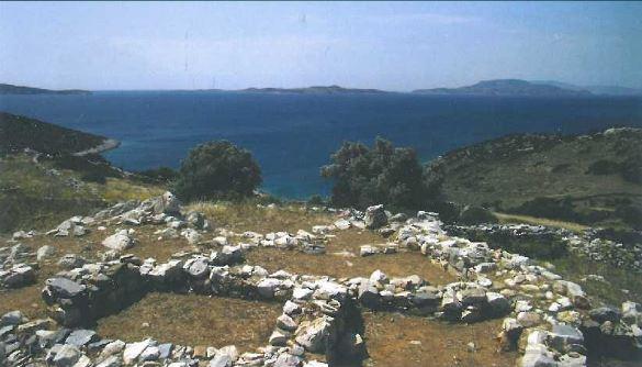 Προϊστορική ακρόπολη στο Κορφάρι Αμυγδαλιών